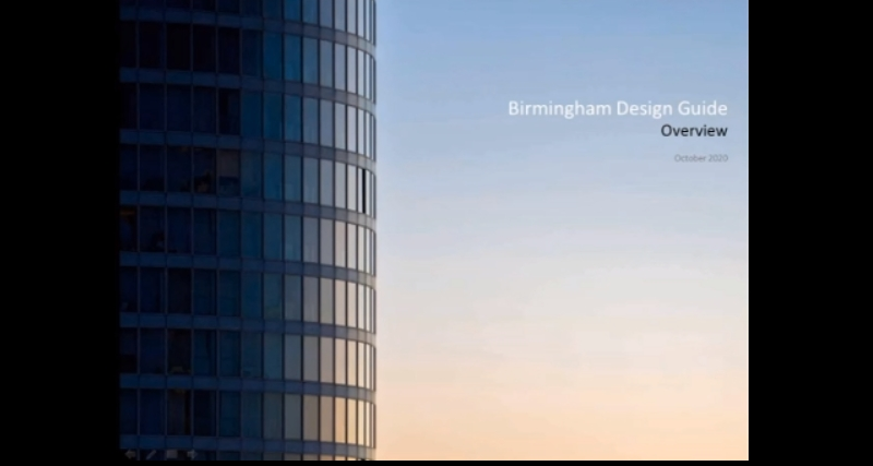 Birmingham Design Guide Overview October 2020