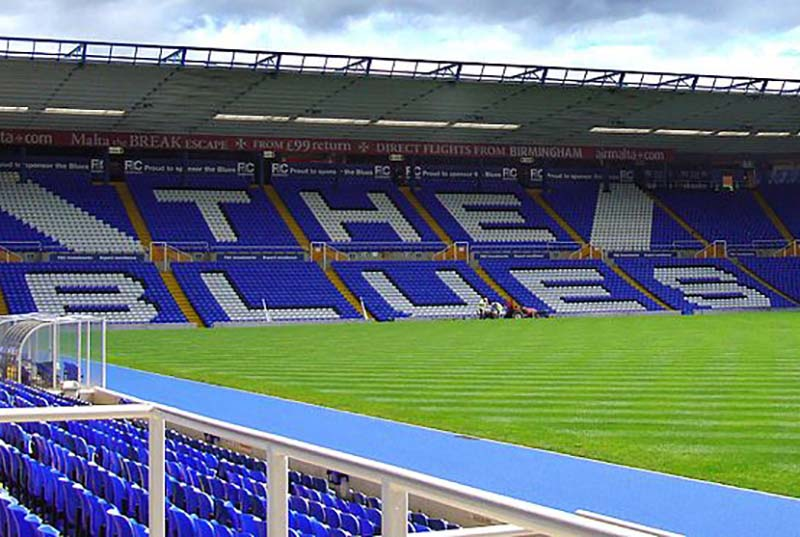 Birmingham City's St Andrew's ground. Pic: fitzyt