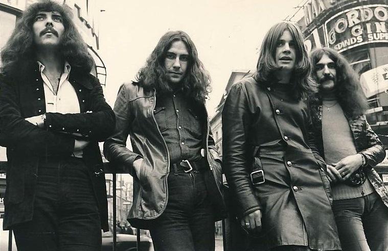 Aston-born Black Sabbath in 1970.