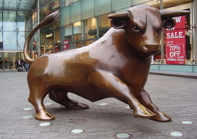 The Bullring bull. Picture: Luke Byfield