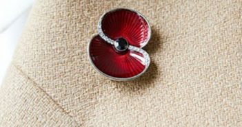 The new poppy brooch