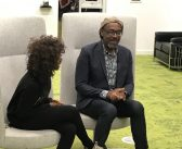 """You can't be what you can't see""- Sir Lenny Henry speaks to School of Media students about getting into the TV industry"