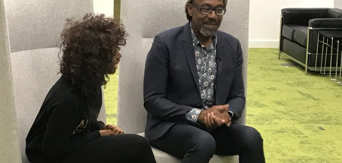 """""""You can't be what you can't see""""- Sir Lenny Henry speaks to School of Media students about getting into the TV industry"""