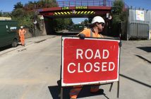 Workmen reopen Landor Street after bridge repairs