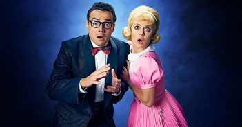 Ben Adams and Joanne Clifton in The Rocky Horror Show