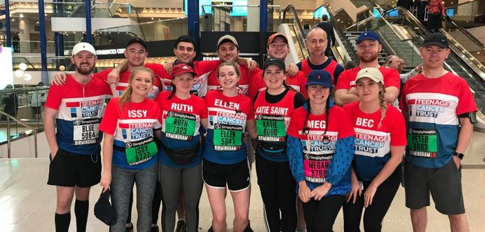 Birmingham half marathon: group raise over £7,000 for charity in tribute to friend