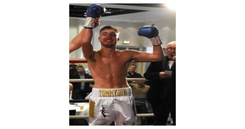 Tommy Collins 'desperate' to return to the ring victorious as he makes his comeback to boxing