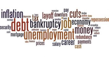 Words about unemployment, jobs, money...