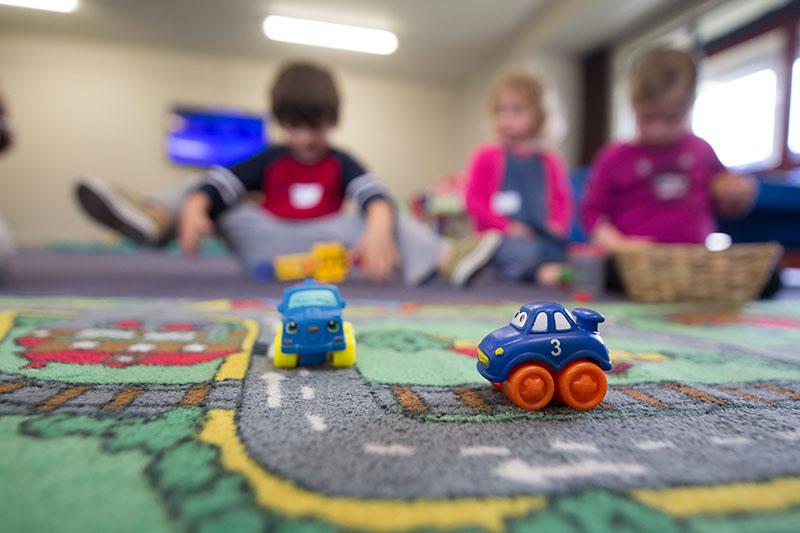 Children in nursery/pre-school