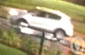 The car suspected of being involved in a hit and run in Northfield