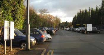 Dorridge Railway Station car park