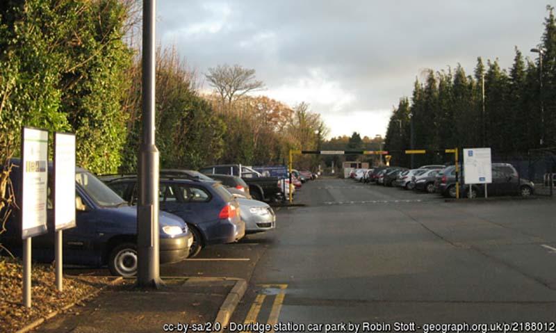 Dorridge Railway Station car park